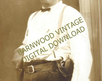 Antique Lawman Photo from early 1900s DIGITAL DOWNLOAD