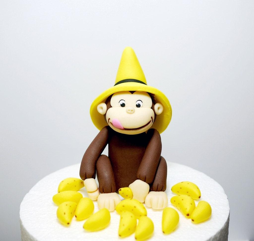 Curious George Cake Topper Australia