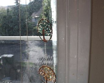 Four Seasons Tree of Life Sun Catcher