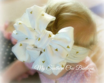 Head Band Wrap- Baby headband- Knit head wrap