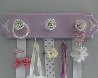 Hair bow holder, hair bow organizer, girls nursery decor, baby shower girl, hairbow holder, baby girl nursery,  headband holder,  accessory