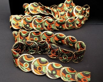 Antique textile band