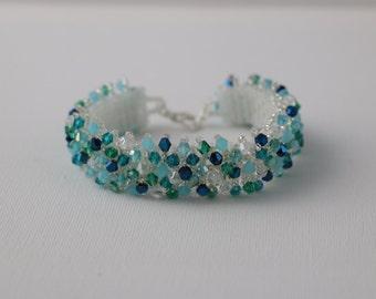 Sea Breeze Crystal Bracelet