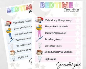 Children's Bedtime Routine