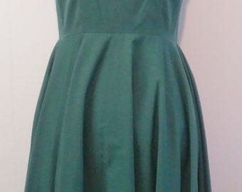Evergreen queen- 1950's dress