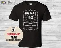 49th birthday, 49th birthday gifts for men, 49th birthday gift, 49th birthday tshirt, 1967, 49th birthday gift for women, vintage in 1967