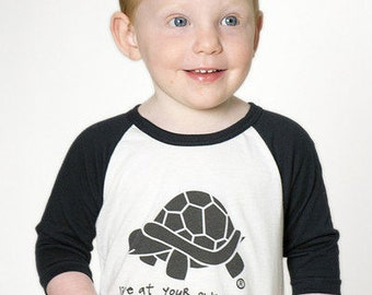 Turtle Raglan - Live at your own pace!