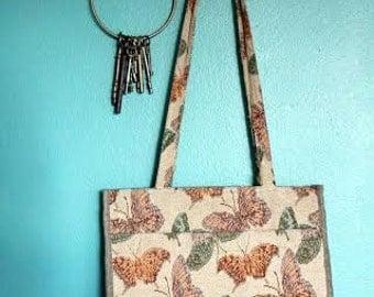 Jade Butterfly Bag/Purse, 1980s