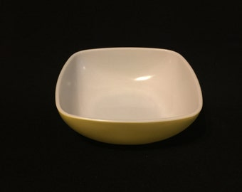 Vintage Square Pyrex Mixing Bowl - Yellow 515B-015 - 1 1/2 Quart