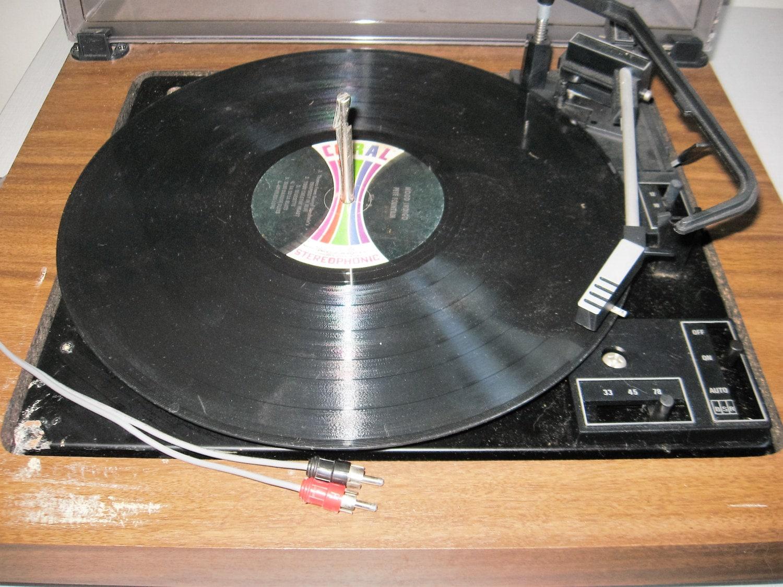 Vintage bsr turntable england