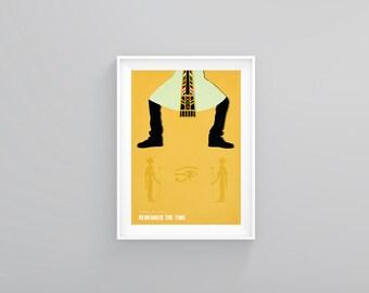 Michael Jackson Remember The Time Minimal Poster