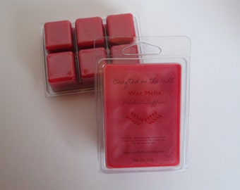 Patchouli Saffron Wax Melts, Highly Scented Wax, Soy Blend