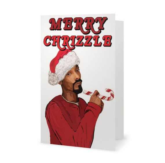 Snoop Dogg Funny Christmas Card Notorious B.I.G. Rapper