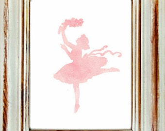 cinderella dress print diy pink watercolor cinderella