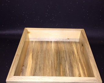 Gamer's Dice Box, Handmade Dice Tray out of Beetle Kill Pine