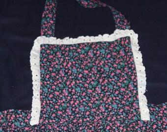 Handmade Calico apron