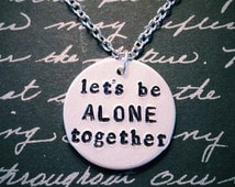 Fall Out Boy Let's Be Alone Together Necklace