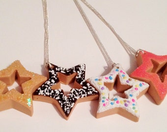 Donut Star Necklaces
