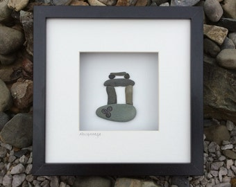 Unusual Wedding Gifts Ireland : Unique wedding gift from Ireland by BoyneValleyPebbleArt on Etsy