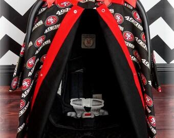 49ers Car Seat Etsy