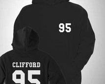 Clifford 95 Varsity Hooded Sweatshirt College Hoody