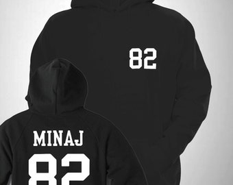 Minaj Varsity Hooded Sweatshirt College Hoody