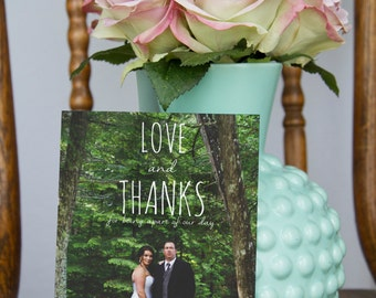 Downloadable Thank You Overlays, Instant Download, Thank You, Wedding Thank You, Photo Overlay, Wedding Photo Thank You, Baily