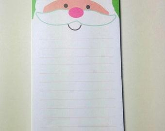Target One Spot Santa Notepad