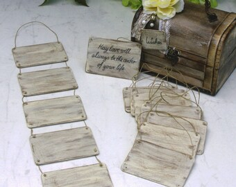 Shabby Chic Wedding Wishing Board