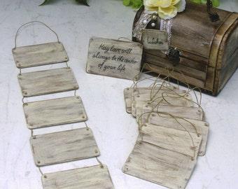 Shabby Chic Wedding Wishing Board