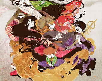 "11x17"" Print: Inuyasha"
