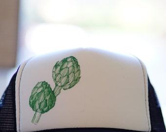 Artichoke trucker cap