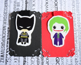 Batman Joker magnetic bookmark DC superhero