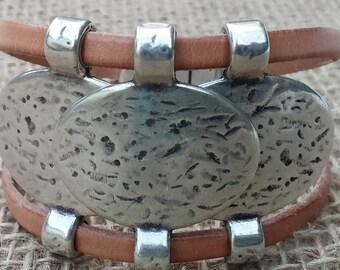Three Coin Bracelet