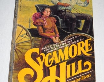 1981 Sycamore Hill by Francine Rivers  Vintage paperback book