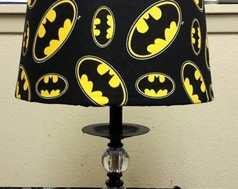 Batman Inspired: Lamp Shade