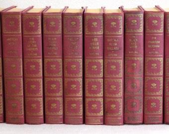 Rudyard Kipling~Complete 10 vol Set~Standard Classics 1930 Vintage Books Antique Books Decorative Books Old Books Book Decor Decor Books