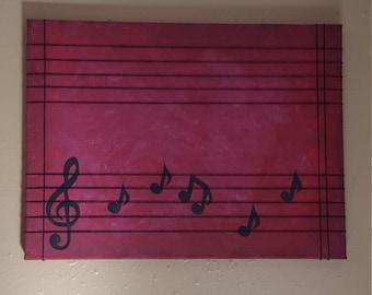 Musical Canvas (12x16)