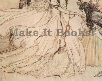 Arthur Rackham - Ashenputtel Goes to the Ball - Ashenputtel - Brothers Grimm Fairy Tales