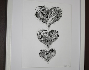 Love, Love, Love - Print of Original Illustration