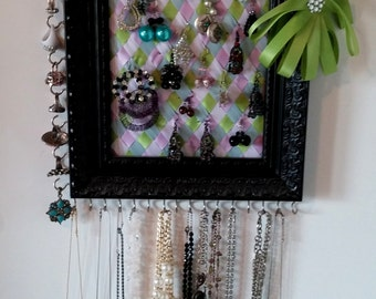 Jewelry organizer~earring~ring~necklace holder