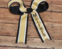 Monogram Cheer Bow~~Custom Order Cheer Bow~~Squad Bows