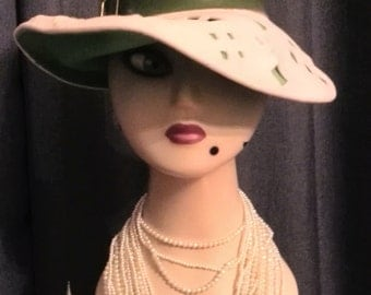 Amazing vintage hat by Sylvia Gain of Sydney.
