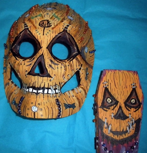 how to make sam trick r treat mask