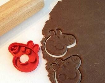Peppa Pig Cookie / Cake Cutter