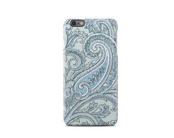 Light Blue Floral Pattern iPhone 6 Case - iPhone 6 Plus Case - iPhone 5 Case - iPhone 5S Case - iPhone 5C Case