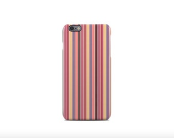 Colorful Stripes Pattern iPhone 6 Case - iPhone 6 Plus Case - iPhone 5 Case - iPhone 5S Case - iPhone 5C Case