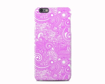 Pink Paisley Pattern iPhone 6 Case - iPhone 6 Plus Case - iPhone 5 Case - iPhone 5S Case - iPhone 5C Case