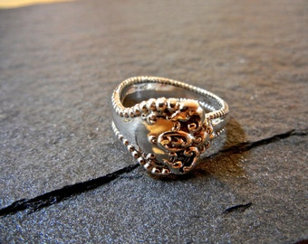 Raleigh Sterling Silver Spoon Ring