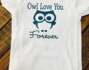 Owl Love You Forever Onesie
